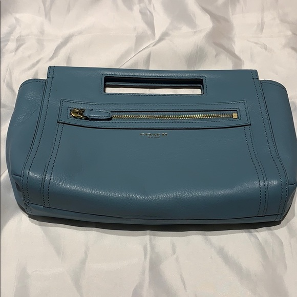 Robin egg blue coach bag
